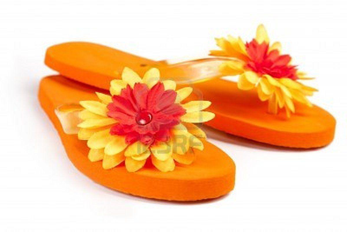 1ead49510e88 Google Image Result for  http   us.123rf.com 400wm 400 400 twixx twixx1103 twixx110300020 9114095- orange-flip-flops-with-flowers-on-a-white-background.jpg
