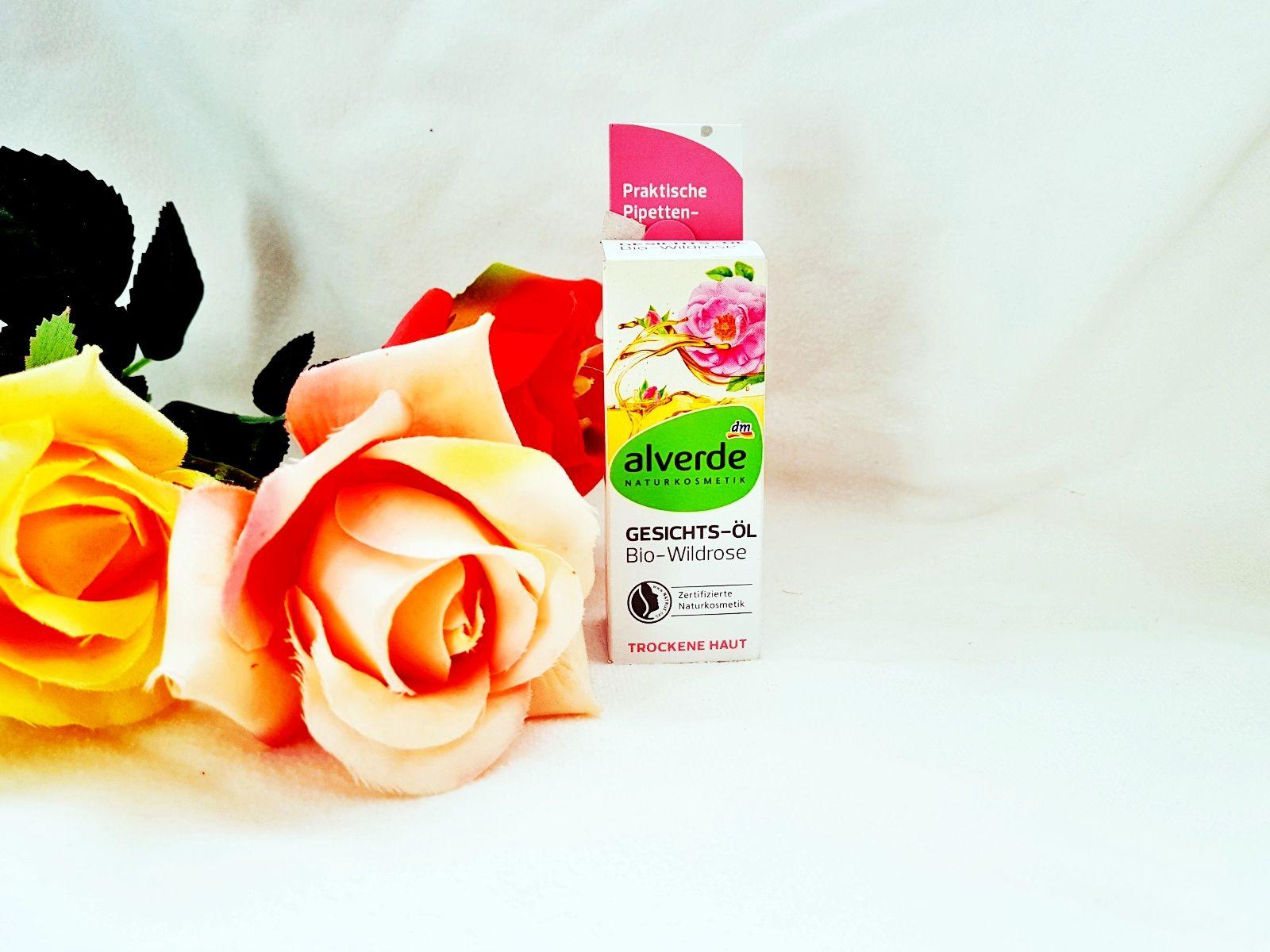 Alverde Gesichts-Öl Bio-Wildrose