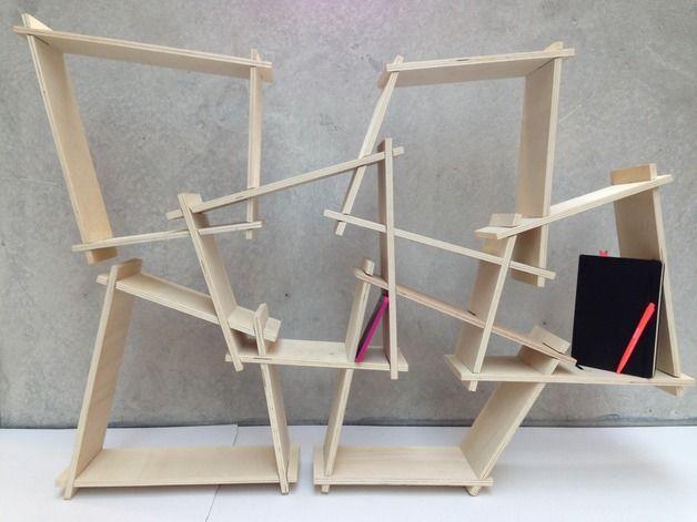 regal stecksystem i want this pinterest regal wandregal und stangen. Black Bedroom Furniture Sets. Home Design Ideas