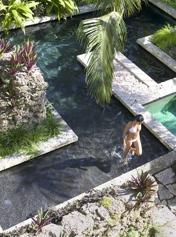 A tropical home for maximum outdoor living pool designs for Pool design miami