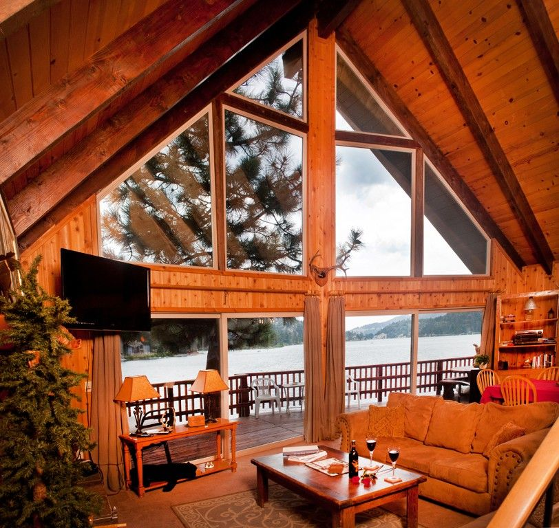 Big Bear Lake Cabin Rental Spectacular Lakefront With Hot