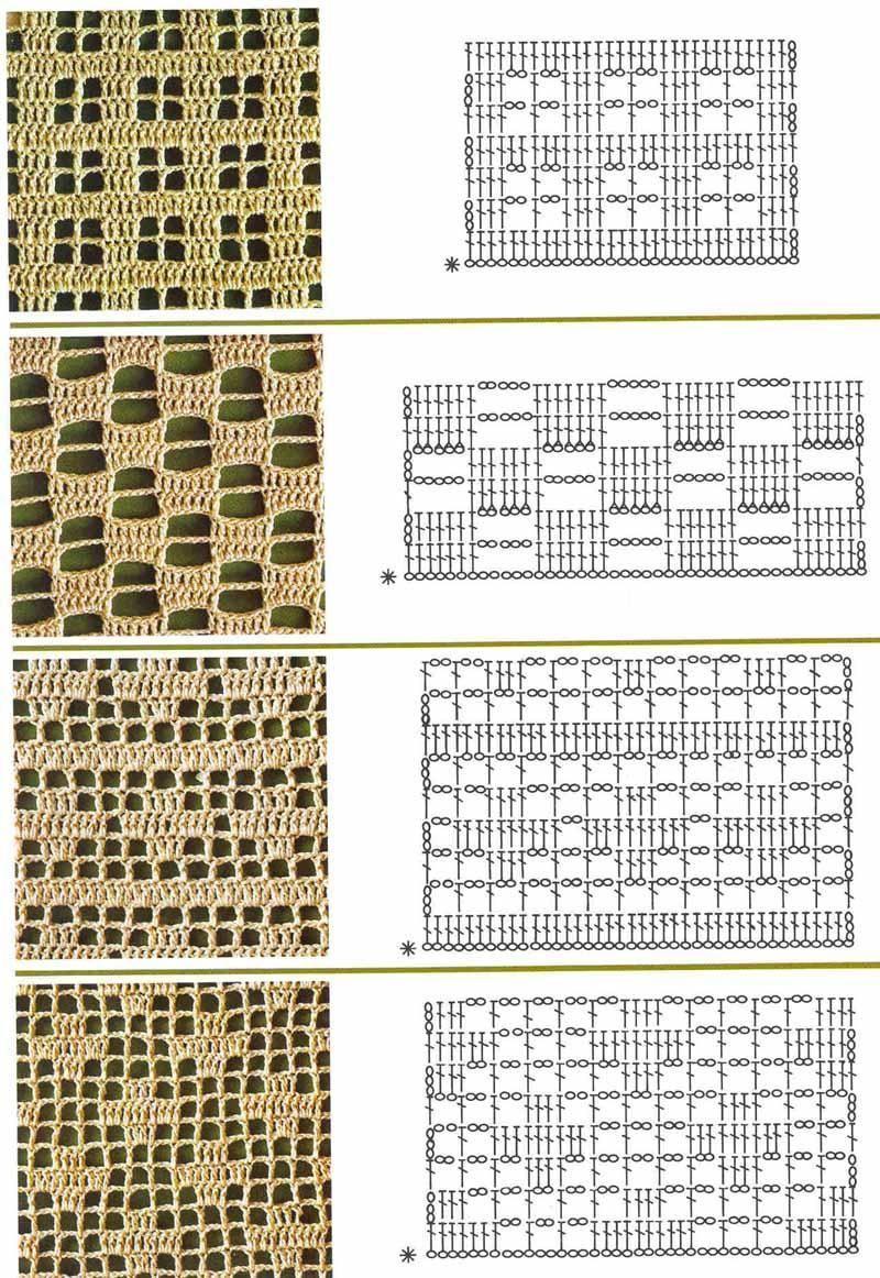 Mis tejidos en crochet y dos agujas (