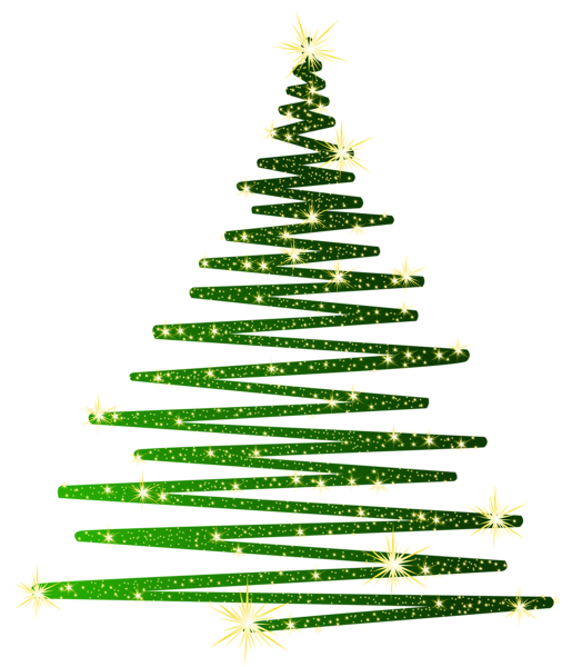 Green Christmas Shining Tree Png Clipart Christmas Tree Clipart Wall Christmas Tree Christmas Stickers