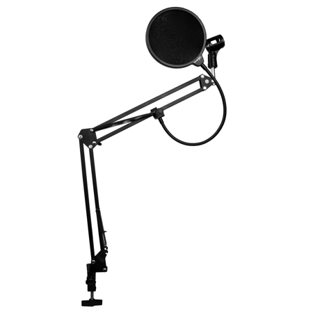 dragonpad usa desk mount scissor boom microphone arm and studio pop rh pinterest com