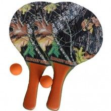 Mossy Oak Breakup Paddle Ball Set $9.99