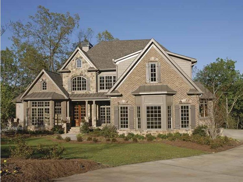 French Country Style 2 story 4 bedroomss