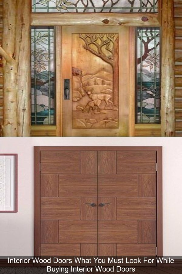 Solid Oak Interior Doors Wooden Door Frame Solid Wood Panel