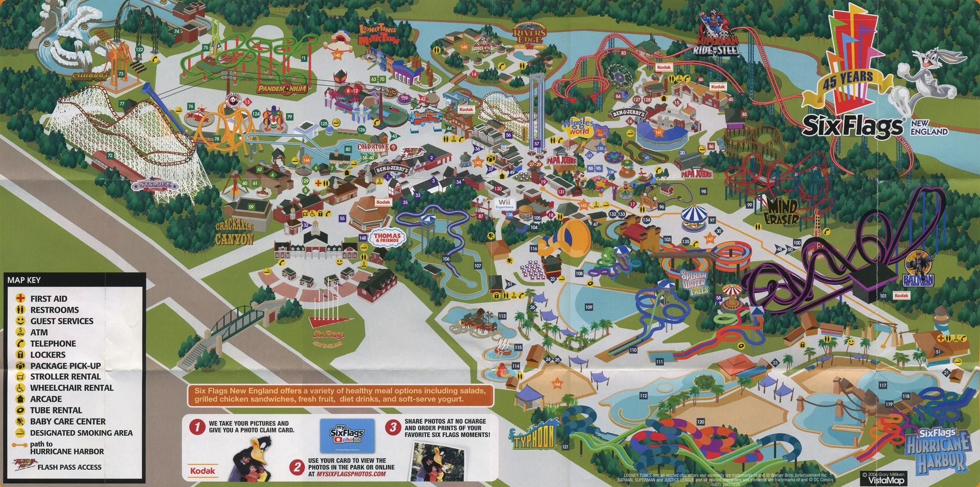 Pin By Viola On Parks Theme Park Map Six Flags Six Flags Great Adventure