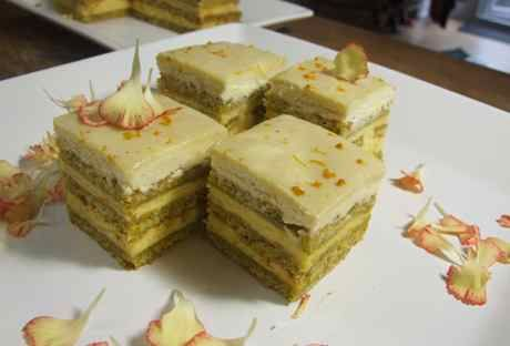 Cakes slices recipes