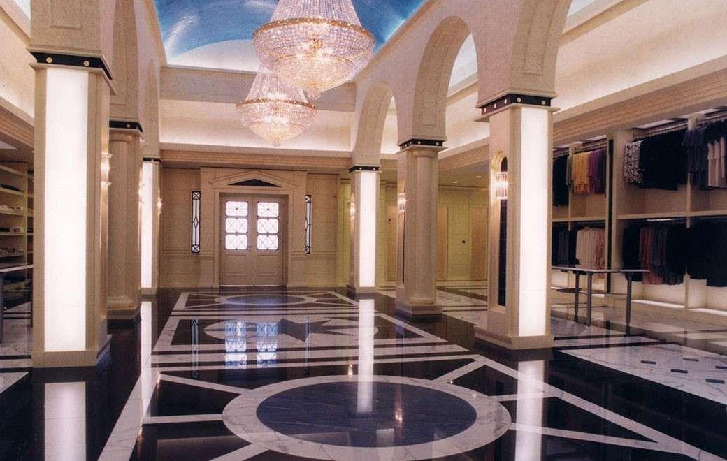 Arredare casa con pavimento in marmo nel 2019 for Arredare casa in bianco