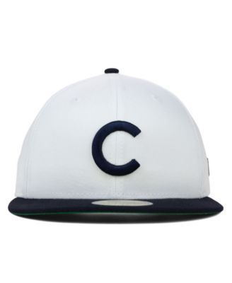 afafb65dbb962a New Era Chicago Cubs Mlb Cooperstown 59FIFTY Cap - White/Navy 7 5/8
