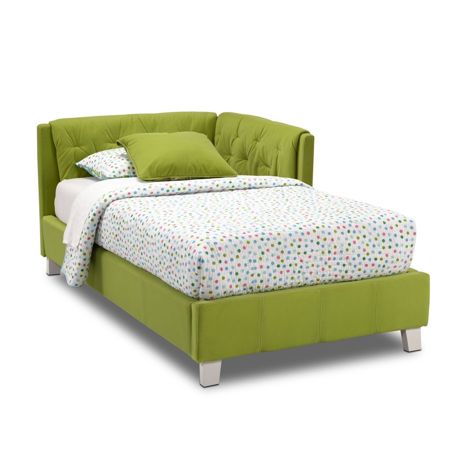 jordan twin corner bed green corner beds kids furniture and corner