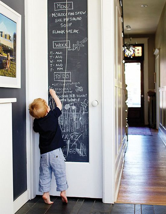 Blackboard for the wall by the larder...