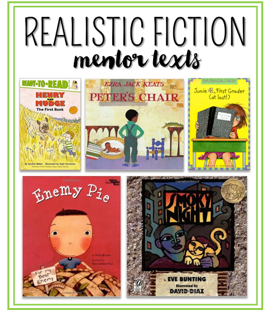 Writing Realistic Fiction In 1st And 2nd Grade I First Grade