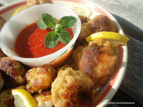 Italian American Shrimp Balls Alla Little Charlies Clam Bar Nyc Italian American Food Shrimp Balls Food Obsession