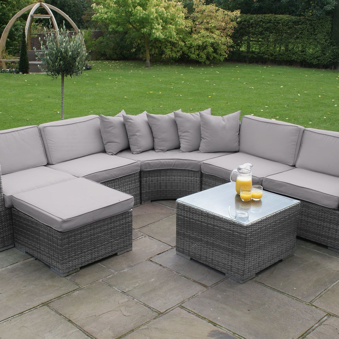 outdoor furniture grey why you must invest in grey rattan garden rh pinterest com