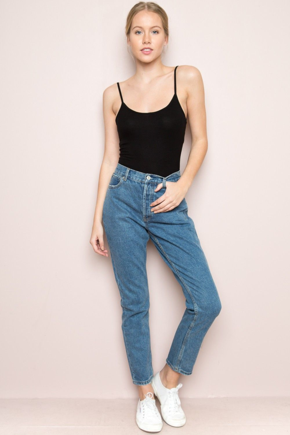 Brandy melville high rise skinny jeans