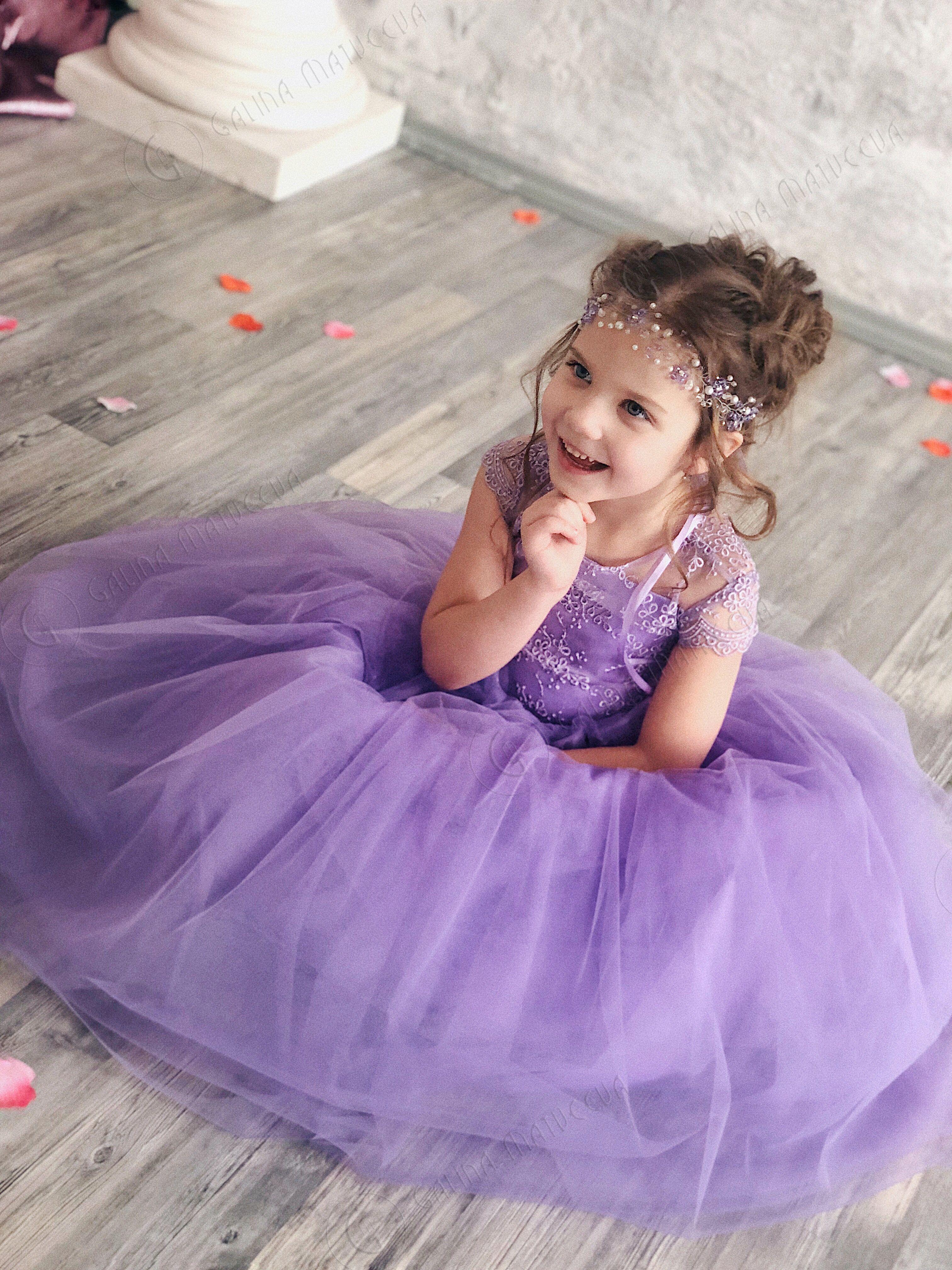 Lavender Flower Girl Dress Purple Tutu Dress Birthday Wedding Party Bridesmaid Holiday Purple Tulle Lace Flower Girl Dress Purple Tutu Dress Purple Flower Girl Dress Lavender Flower Girl Dress Purple Girls [ 4032 x 3024 Pixel ]