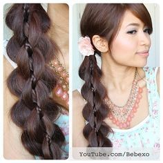 4 braid slide up. Must try this!!