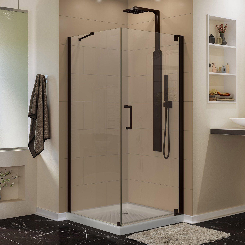 Dreamline Elegance 34 X30 X72 Shower Enclosure Oil Rubbed Bronze