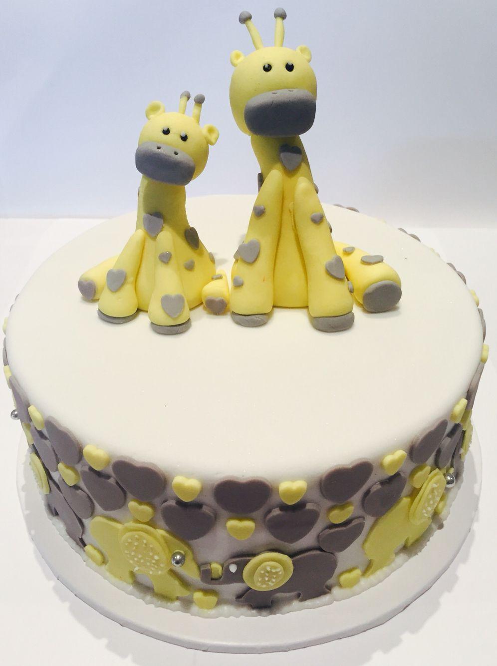 Chocolate mud baby shower cake