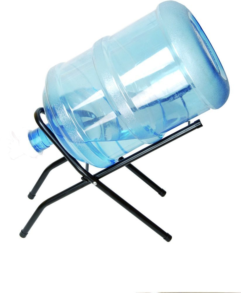 5 Gallon Water Bottle Stand Cradle Set w 55mm Faucet & Handle Water ...