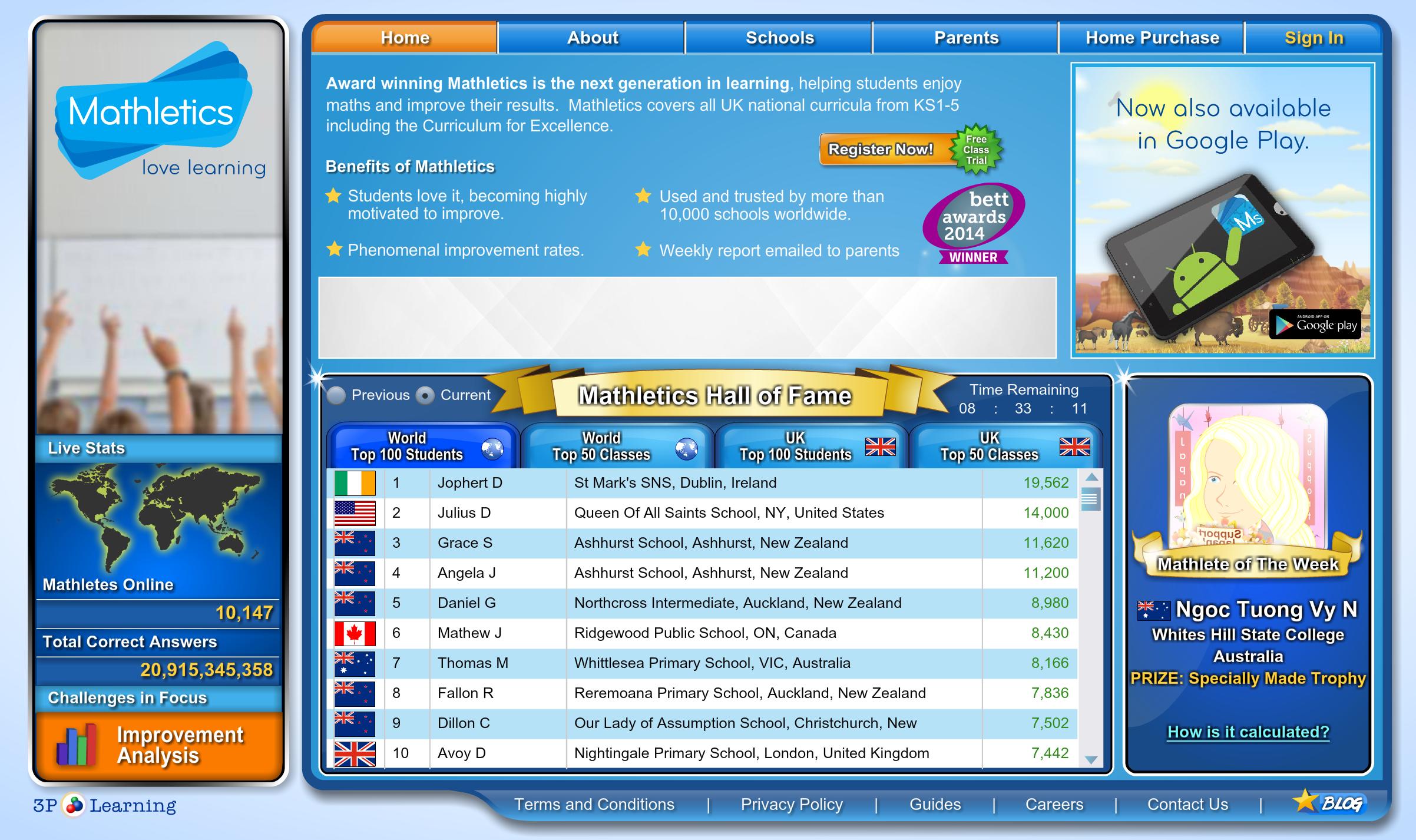 Mathletics UK | E-Learning: SEN | Pinterest | Math skills, Maths and ...