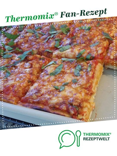 Photo of Thermifees pizza dough with durum wheat semolina – Pizza Margherita
