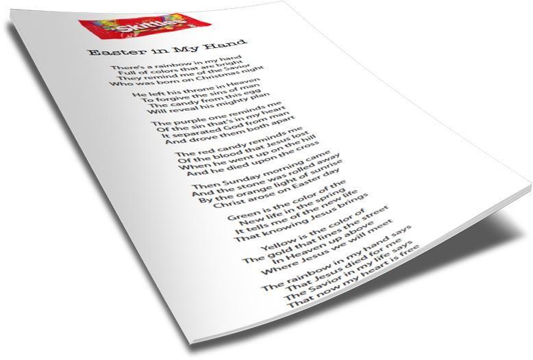 Free skittles easter poem for kids childrens ministry deals free skittles easter poem for kids childrens ministry deals negle Choice Image