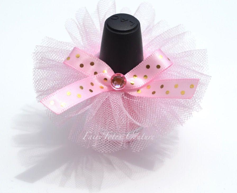 Nail Polish Tutu Favors Tutu Cute Shower Favors Pink