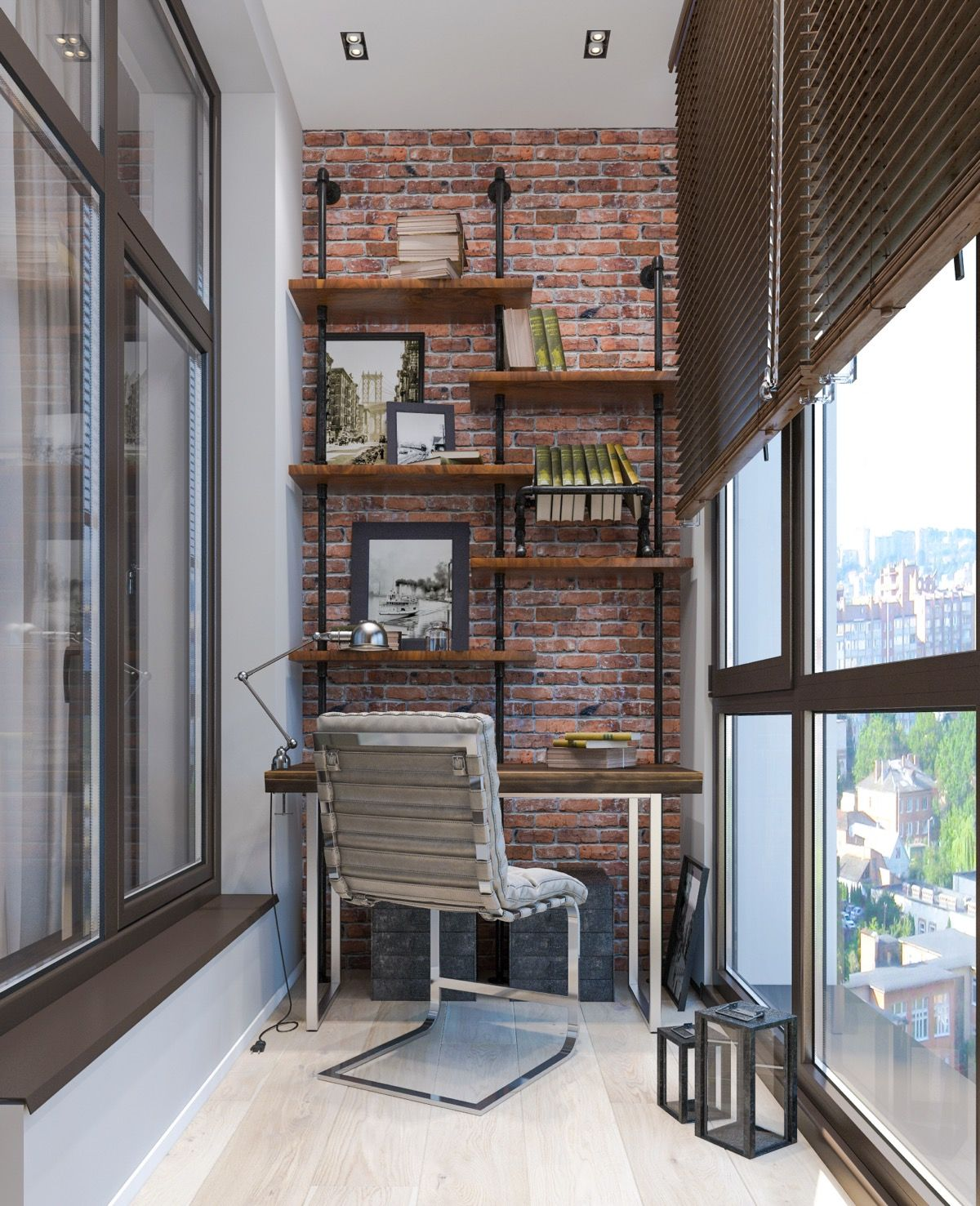 33 Inspiring Industrial Style Home Offices That Sport Beautiful