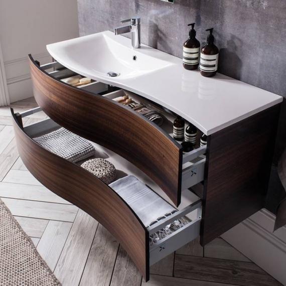 Bauhaus Svelte 120 Eucalyptus Vanity Unit & Basin Wooden