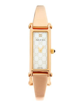 ae2f28756f2 Gucci GG-Dial Watch    895.00 --   472.50   White Rose Gold - Neiman Marcus  Last Call