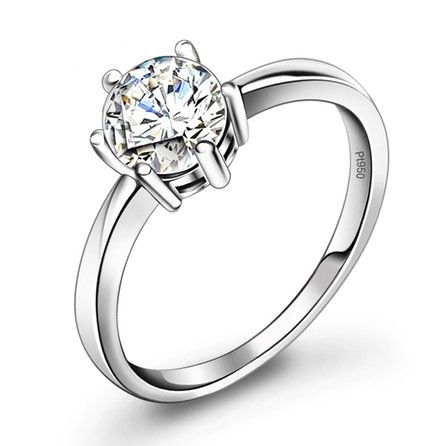 personalized cheap diamond engagement ring for women platinum personalized couples gifts - Cheap Wedding Rings For Women