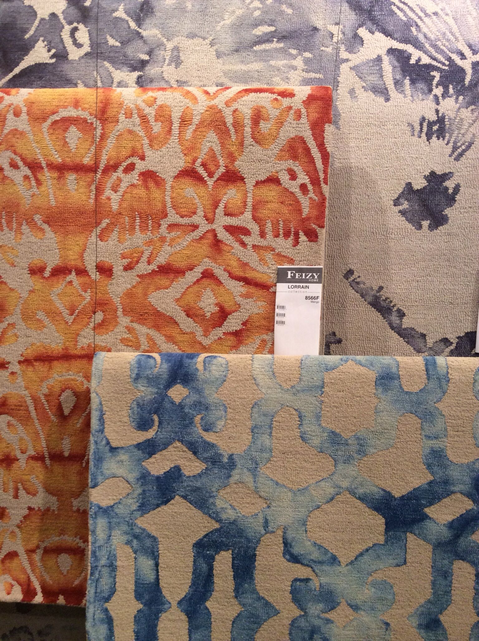 Surfaces 2014 Highlights Dyed Wool Yarn Carpet Companies Feizy Rugs