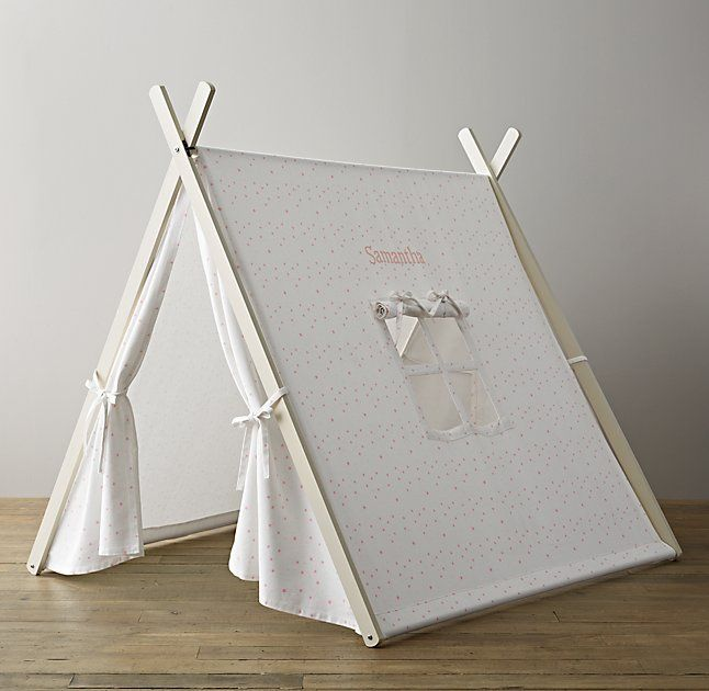 A-Frame Indoor Tent - Pink Star