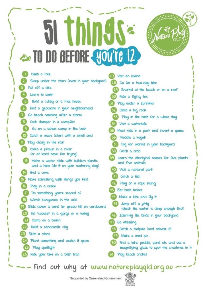 51 Things To Do Before You Re 12 Challenge Nature Play Things To Do Outdoor Kids
