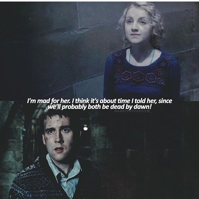Luna Lovegood and Neville Longbottom