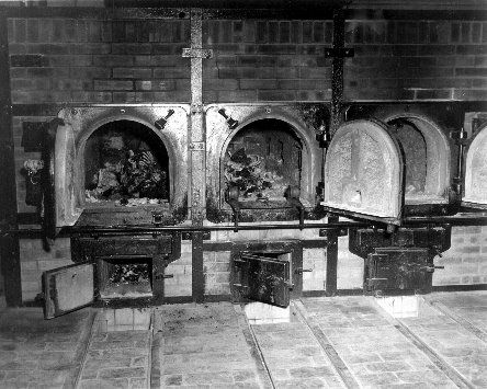 1945 MR Crematory at Buchenwald KZ Concentration Camp Weimar Germany Photo