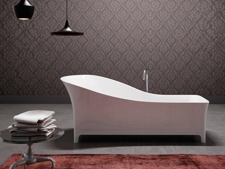 vasca da bagno centro stanza in mineralite sofa by glass idromassaggio design meneghello paolelli associati
