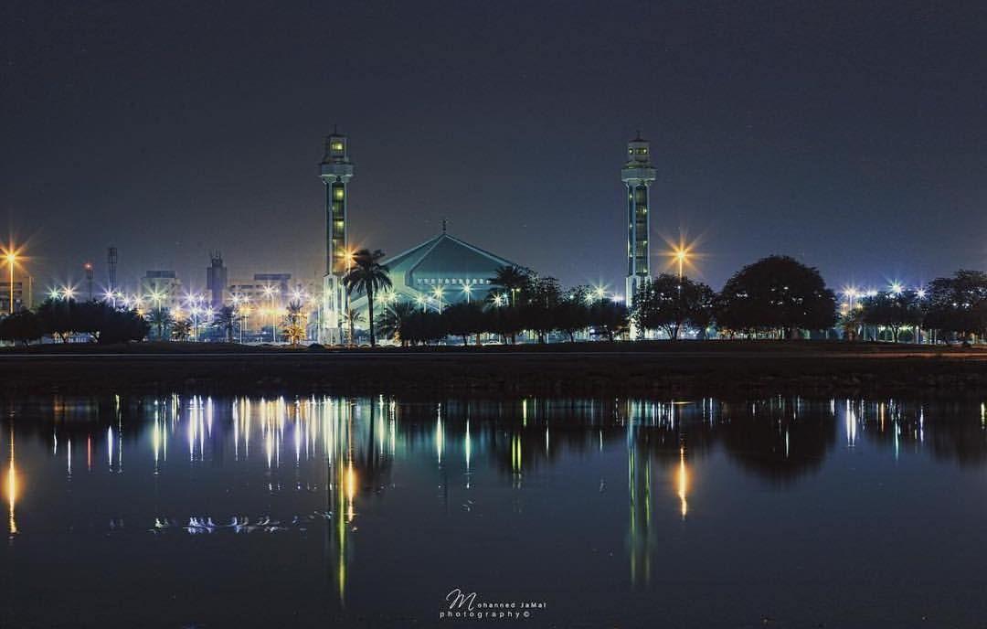 Alkhobar City At Night Taken B Night City City Dammam