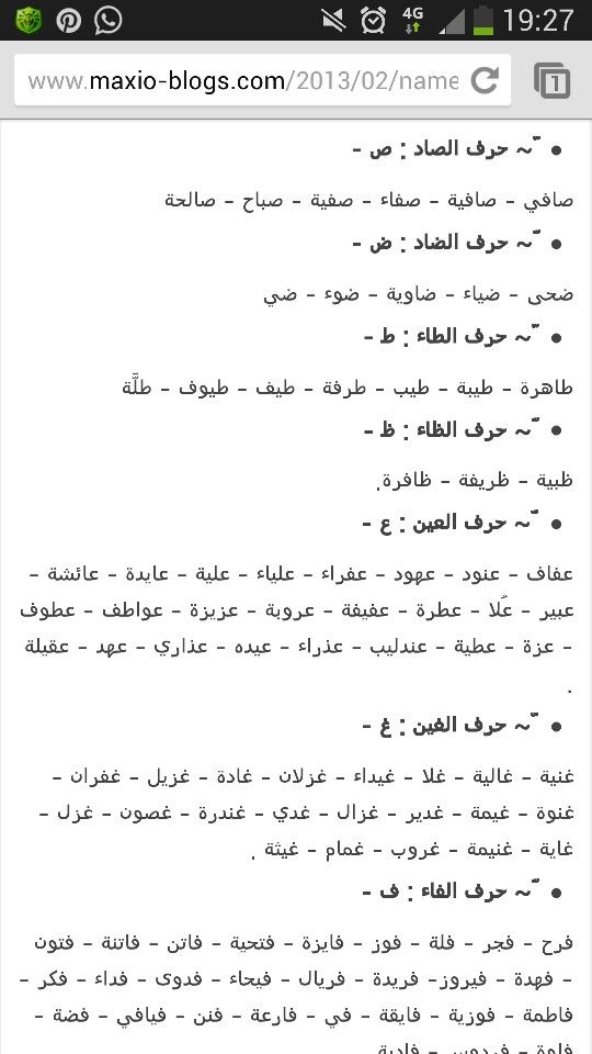 أسماء بنات Names Words Knowledge