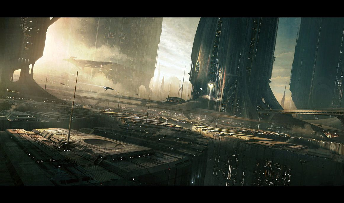 Downtown by ~AndreeWallin on deviantART