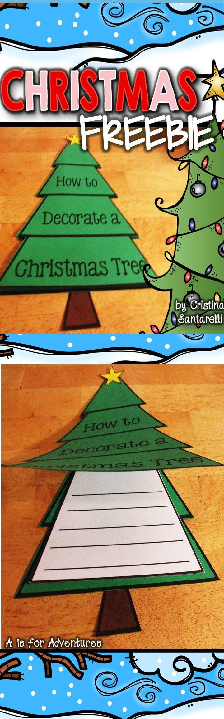 Christmas Activities Christmas Writing Activity