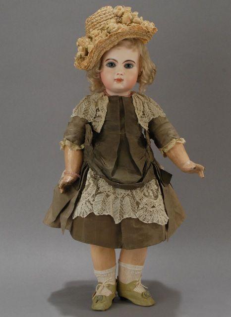 Французские антикварные куклы Жюмо / Винтажные антикварные ...