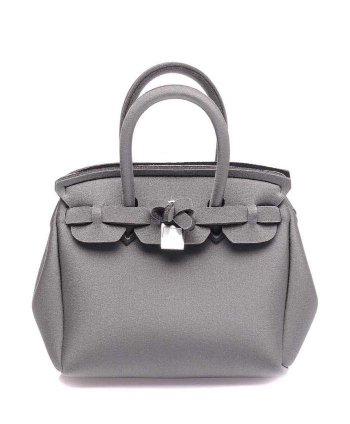 3886b89b43f29 Save MY Bag Gri Metalik Kol Çantası #çanta #clutch #bag #handbag #totebags  #günlükçanta #kolçantası #moda #fashion #trend #madeinitaly #style #look  #moda # ...