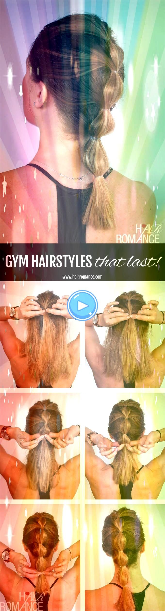 to look good while you workout  3 longlasting hairstyle tutorials you can wear all day  Hairstyle Ponytail How to look good while you workout  3 longlasting hairstyle tut...