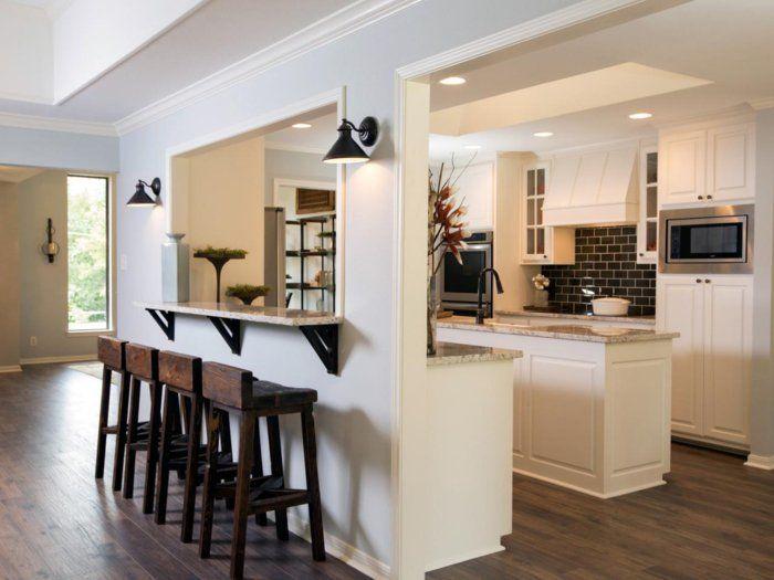 Comment Meubler Votre Cuisine Semi Ouverte Archzine Fr Cuisine Semi Ouverte Cuisine Moderne Cuisine Salle A Manger
