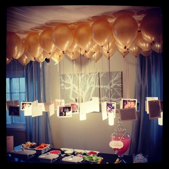11 08 Trend Of The Day Photos Hanging From Balloons