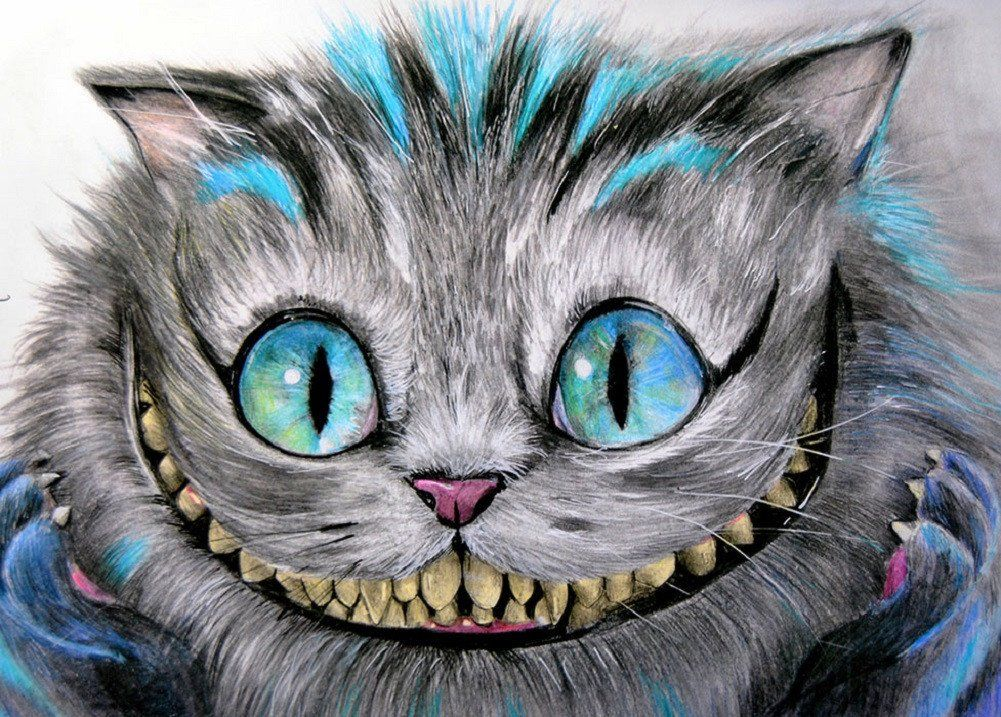 Cheshire Cat by Manuela Lai Alice in Wonderland Grin ...